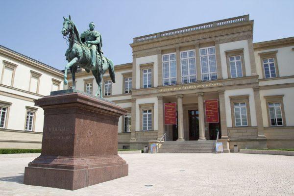 Die klassizistische alte Staatsgalerie