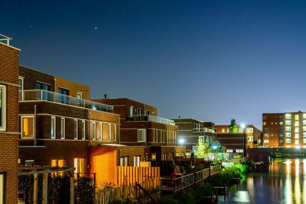 Das Viertel bei Nacht