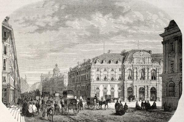 Alte Illustration von 1868
