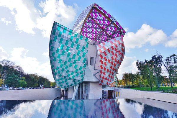 Die Fondation Louis Vuitton in Paris, ebenfalls von Gehry