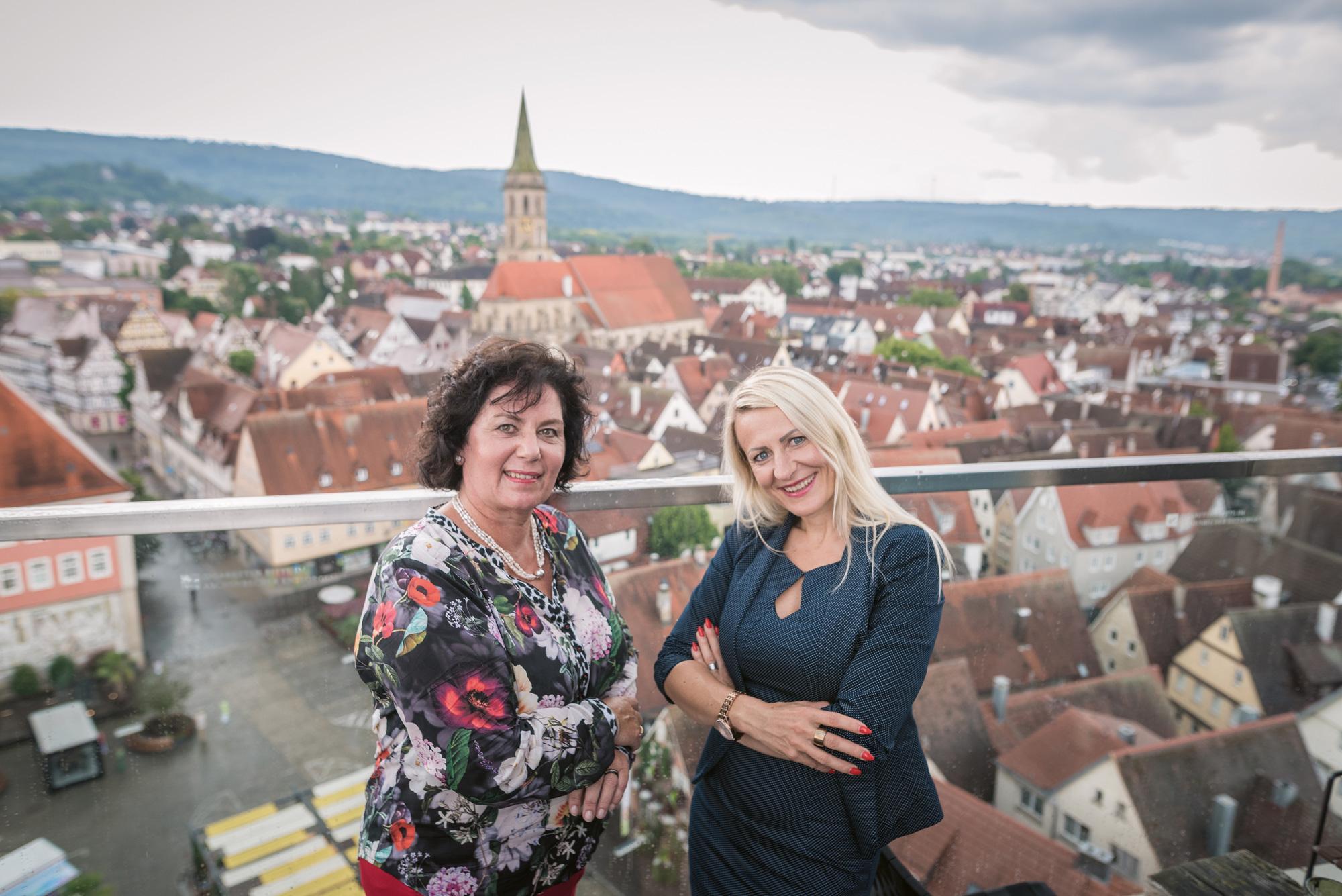 Zwei Powerfrauen in Schorndorf