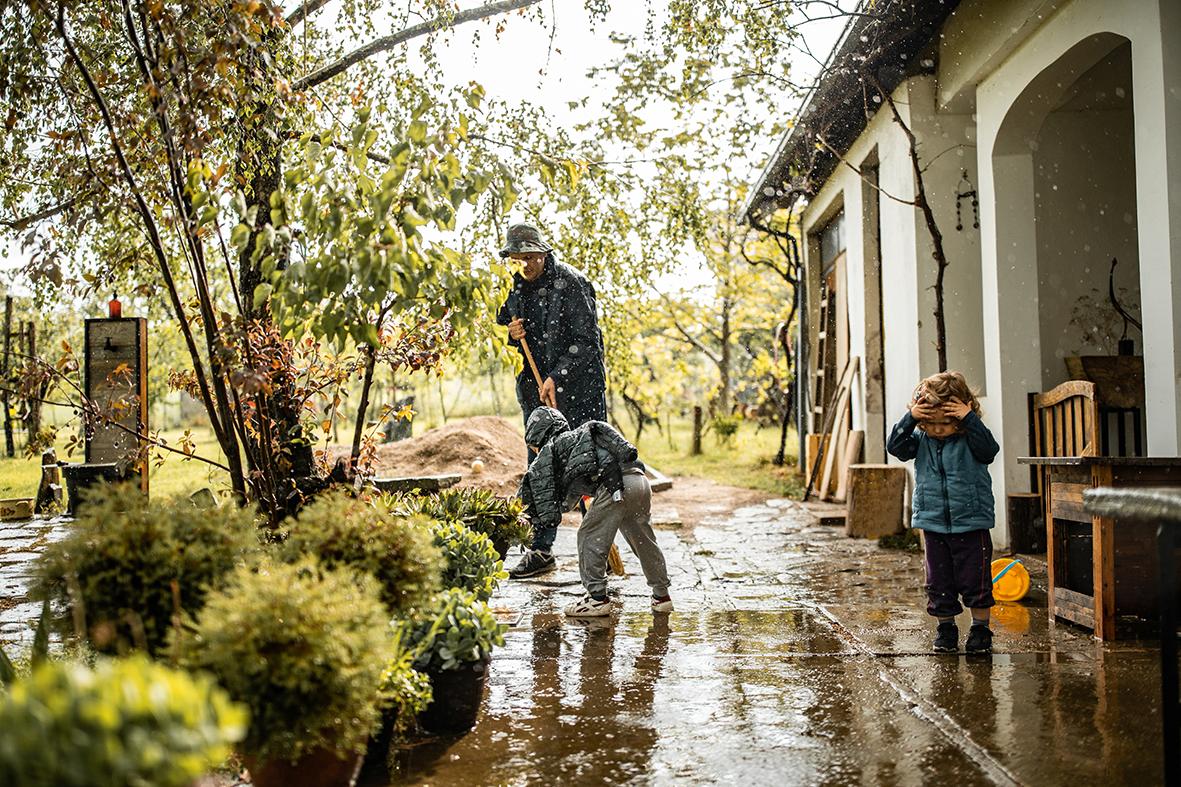 Renovieren nach  Hochwasserschäden